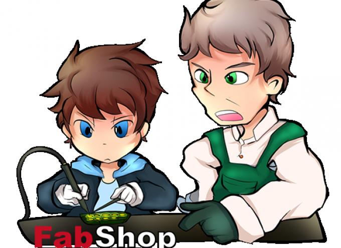 FabShop ホームページ開設しました。