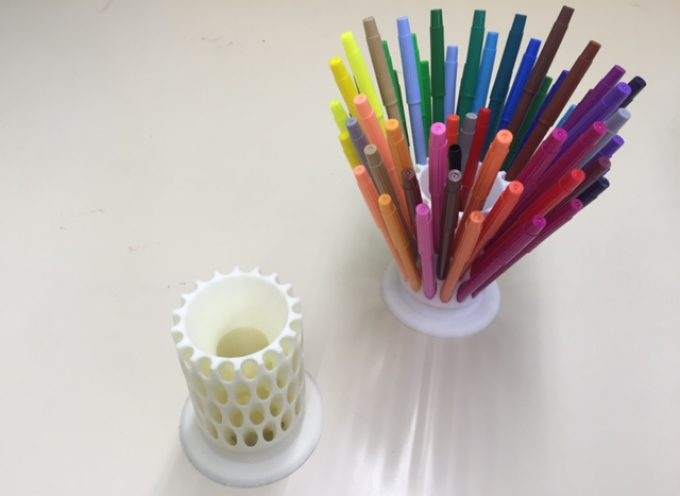 カラーペン立て Color pen stand for 36 pens