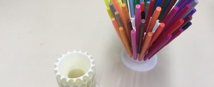 カラーペン立て Color pen stand for 36 pens