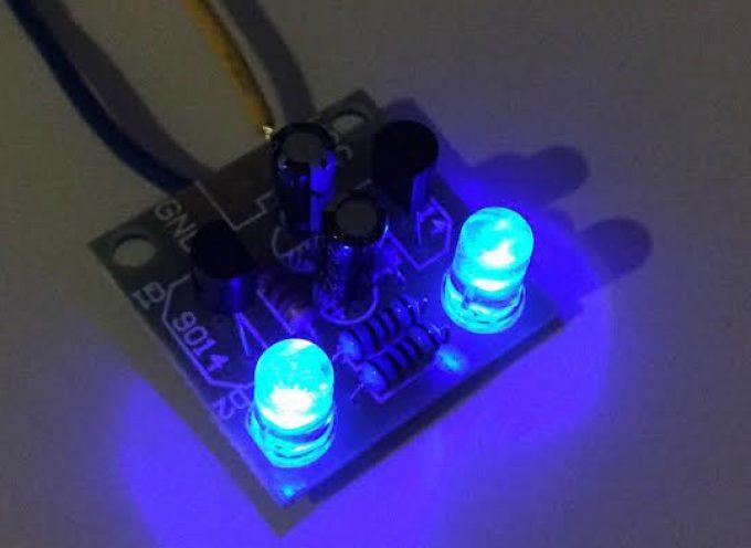 ピカピカ点滅するLEDの回路を作ろう!マルチバイブレータ・キット販売開始!