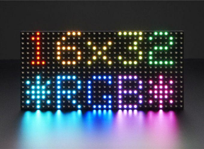 ラズベリーパイとpythonで12×32 LEDマトリクスに画像を表示する。