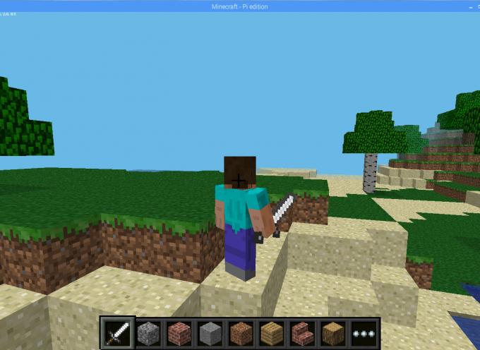 Minecraft – Pi editionをやってみよう! 第1回