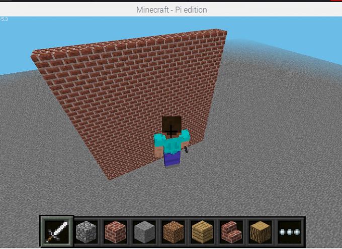 Scratch2MCPIでMinecraftを動かしてみよう!【 第6回 】ブロックの壁を建ててみた