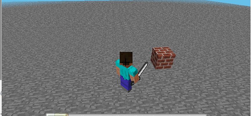 Scratch2MCPIでMinecraftを動かしてみよう!【 第4回 】取り敢えずブロックをひとつだけ置いてみた