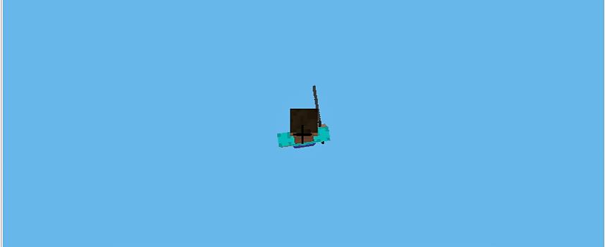 Minecraftの全地形(全ブロック)を消去して宇宙空間を浮遊してみよう!