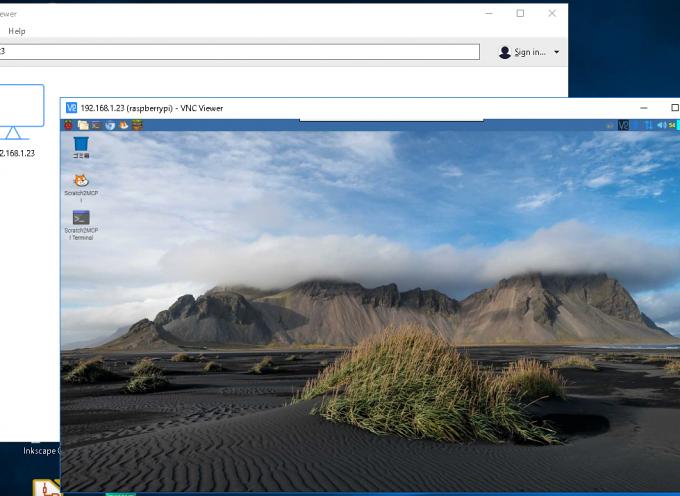 VNC有効で、簡単リモート デスクトップ!