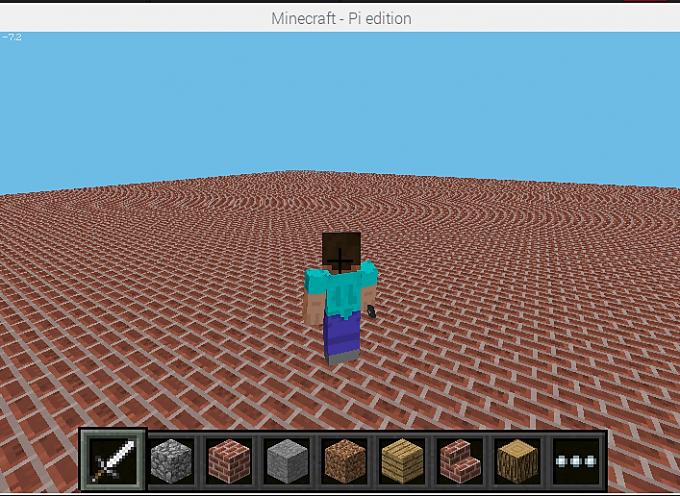 Scratch2MCPIでMinecraftを動かしてみよう!【 第8回 】ブロックを敷き詰めてみよう!