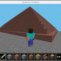 Scratch2MCPIでMinecraftを動かしてみよう!【 第9回 】巨大ピラミッドだって築造できるぞ!
