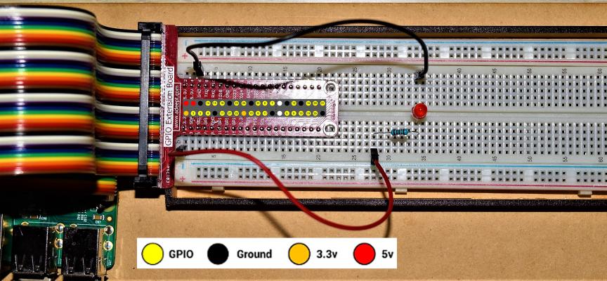 【 第2回 】T型GPIO拡張ボードで、先ずはLピカ!