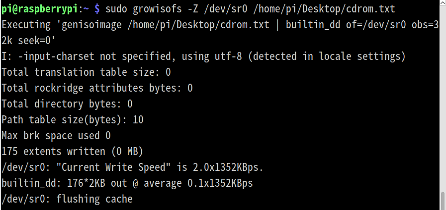 【STEP-30】RaspbianでもDVDドライブをマウントしてデータをバックアップ