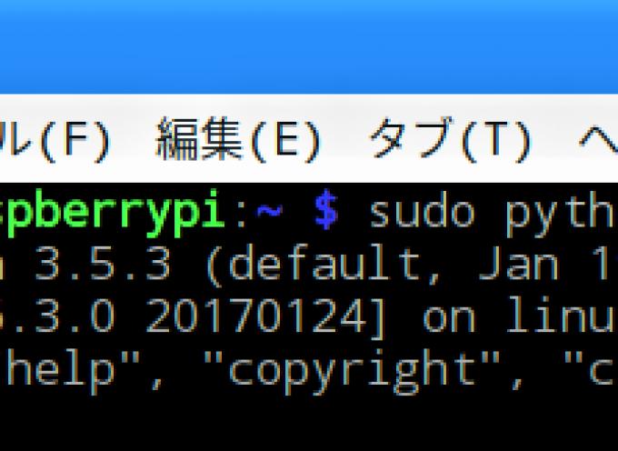 【 第26回 】Pythonでもサーボモーターをフルスイング!( WiringPi 編 )
