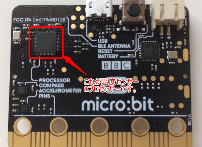 【第13回】micro:bit 温度センサーを使って華氏温度を表示させる