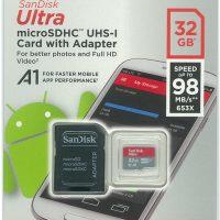 SanDisk Ultra microSDHC 32GB SD変換アダプター付属