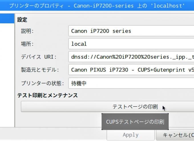 【STEP-53】Raspberry PiでもWiFiでプリンター接続 (CANON編)