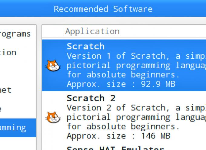 【 第42回 】Scratch1.4の追加インストールは、Recommended Softwareから