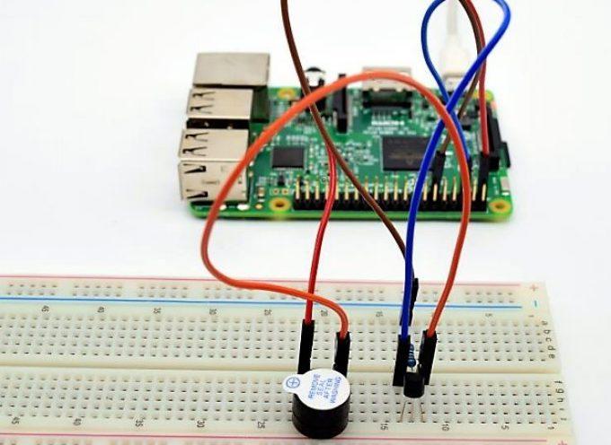 【Lesson2】GPIOポートと接続したブザーを鳴らす。 Buzzer