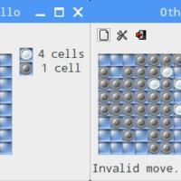 Raspberry Pi でゲーム!Othelloゲームはラズパイの定番。