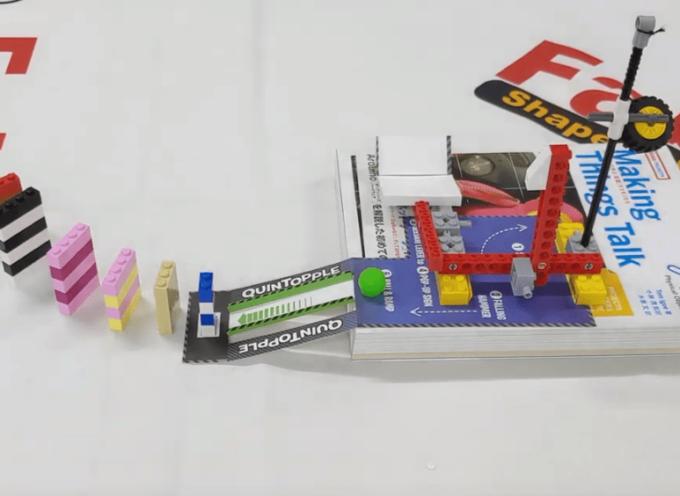 レゴで作るチェーンリアクションNO.1 QUINTOPPLE 基本組み立て方法と完成
