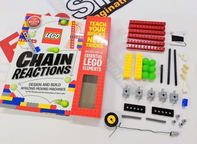 レゴで作るピタゴラスイッチの教科書「チェーンリアクション」
