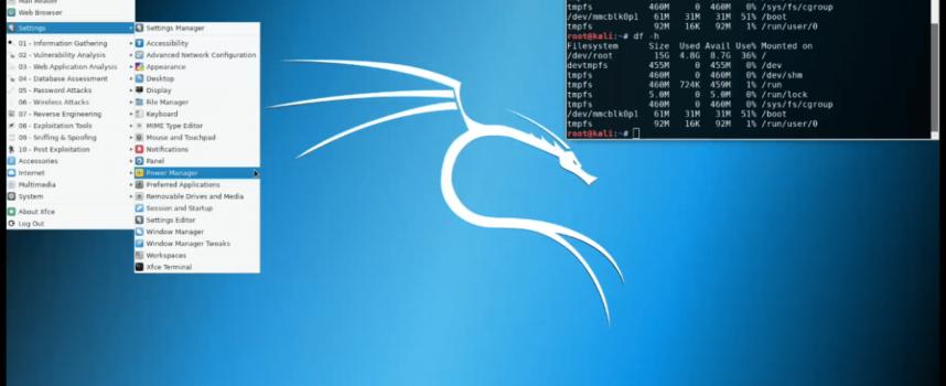 Raspberry PiにKali Linuxをインストールする。