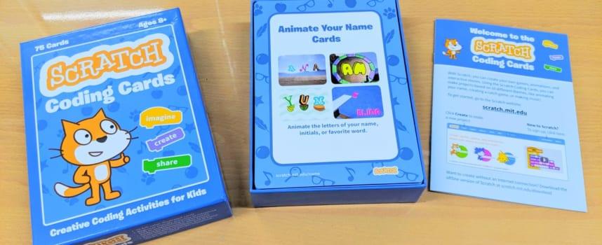 スクラッチでのプログラミング教育をより効果的にする「Scratch コーディングカード」