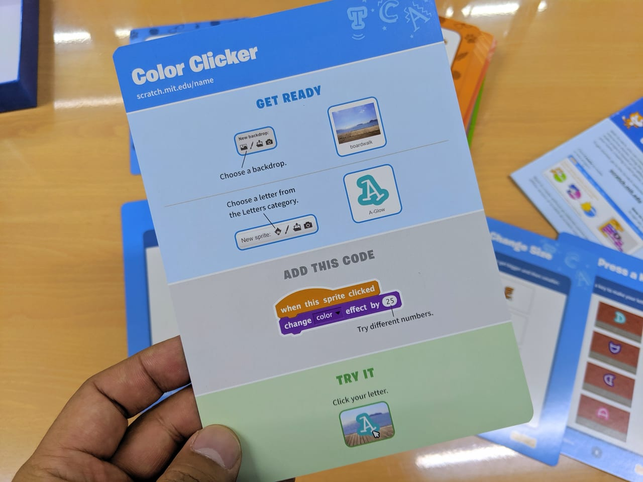 Fabshop Scratch Coding Cards