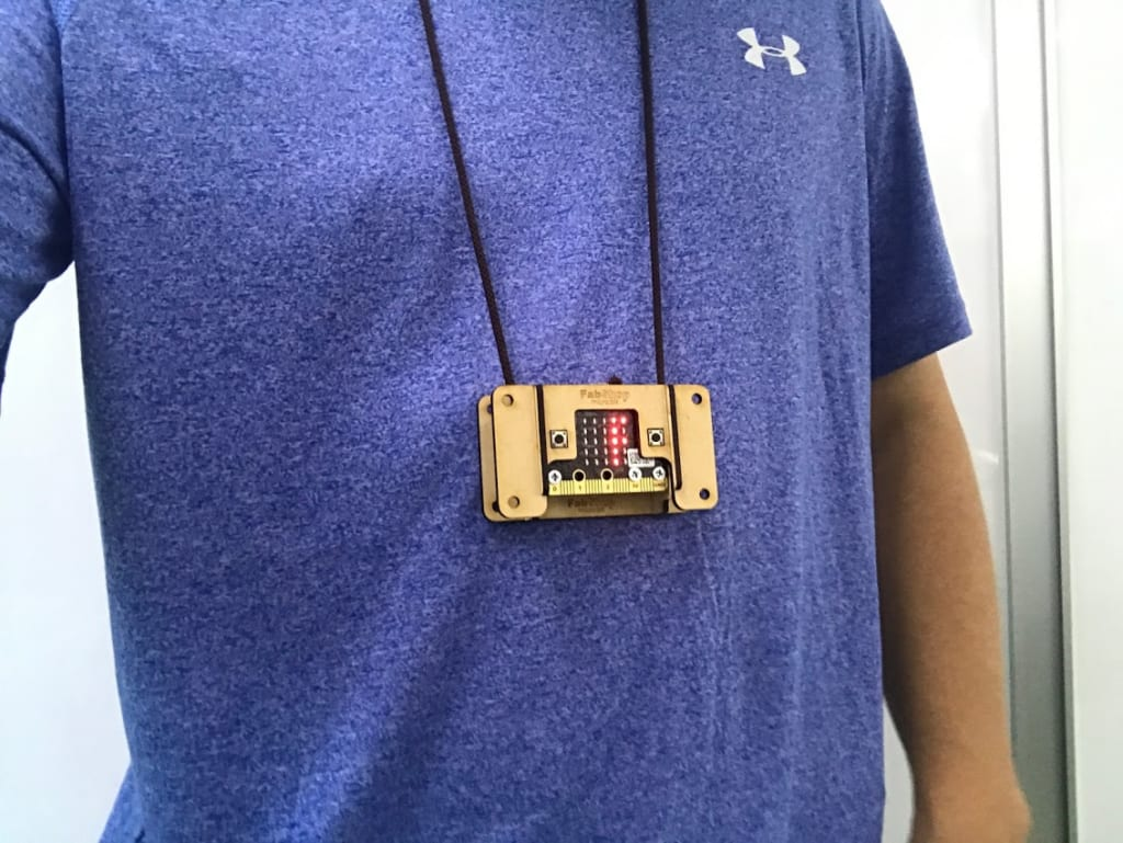 Fabshop microbit Woody Case