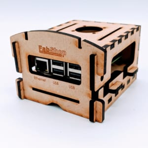 prototype computer case for raspberry pi