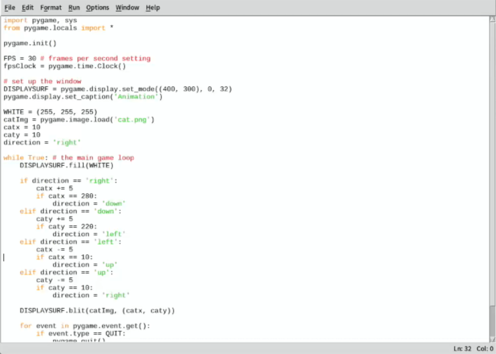 Programming Fabshop