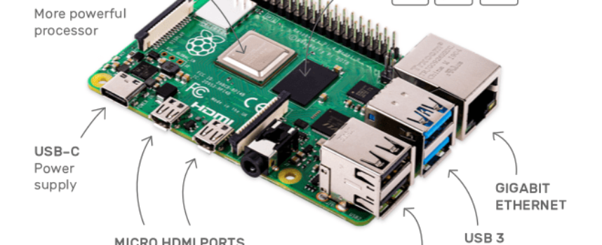 Raspberry Pi 4 が登場!様々なニーズにこたえ、USB Type-C や4K搭載!