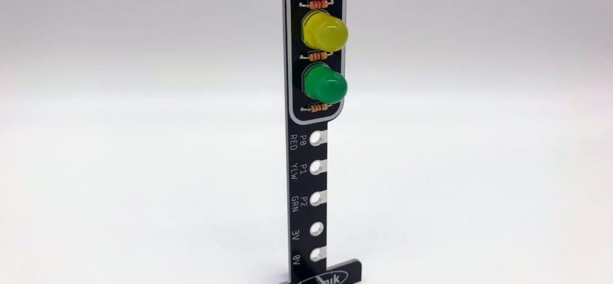 microbitやるならハードも作る!簡単な信号機回路ではんだ付けを体験!(はんだ付け編)