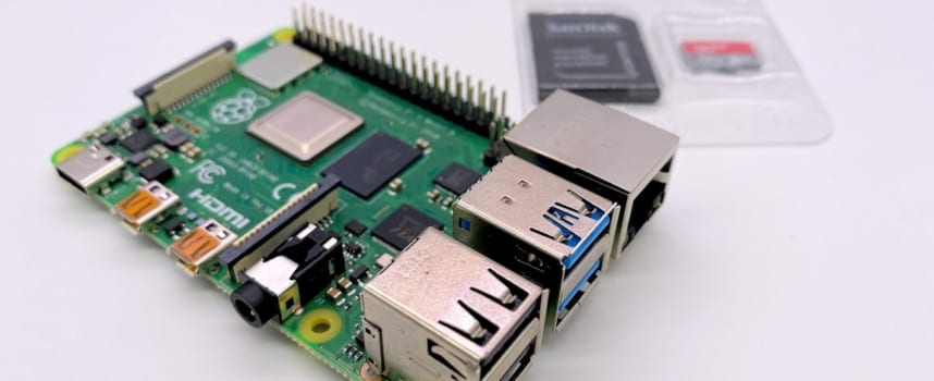 RaspberryPi4B 4GBにNOOBS3.2.1でRaspbianをインストール